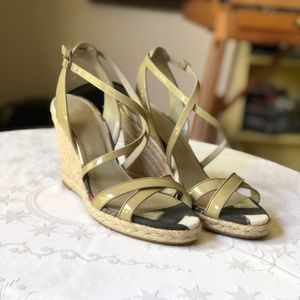 Burberry Espadrille Wedges